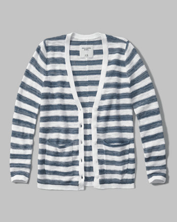 kids button-up cardigan