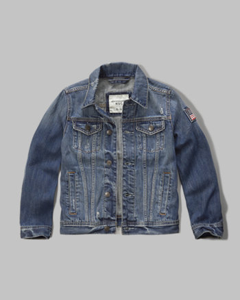 kids americana denim jacket