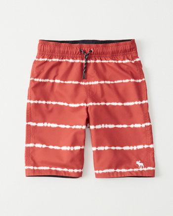 kids Pattern Boardshorts