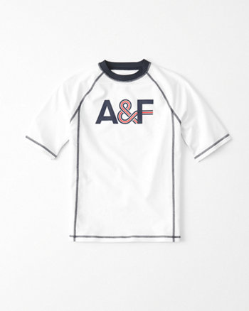 kids Logo Graphic Rashguard
