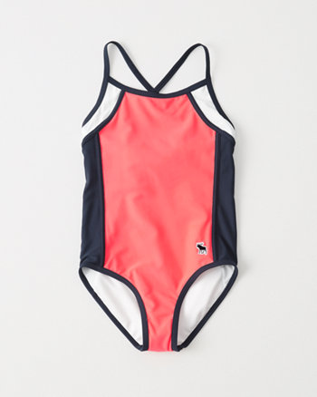 kids Colorblocked One Piece