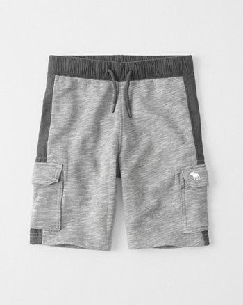 kids Cargo Fleece Shorts