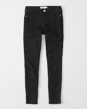 kids High-Rise Ripped Jean Leggings