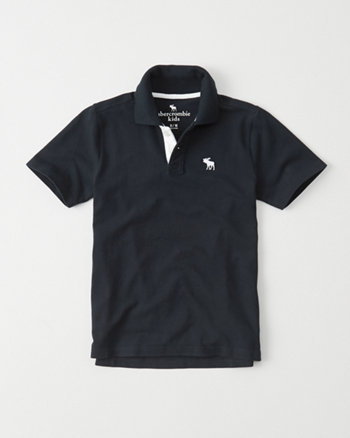 kids Icon Stretch Polo