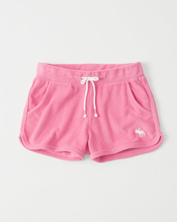 kids Terry Pull-On Shorts
