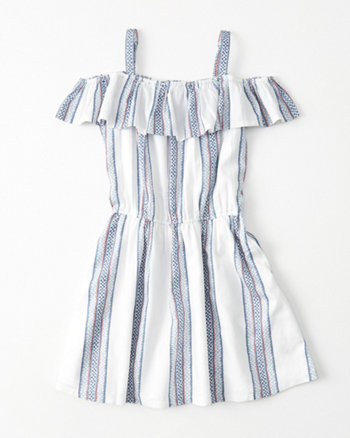 kids Cold-Shoulder Dress