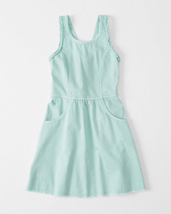 kids Denim Skater Dress