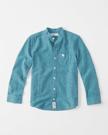 kids Linen Blend Shirt