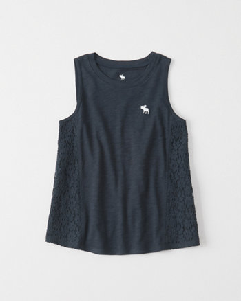 kids Lace Side Tank