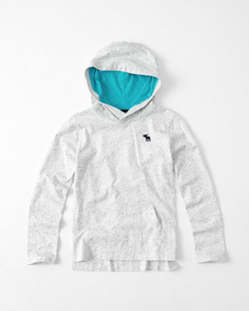 kids Textured Icon Hoodie