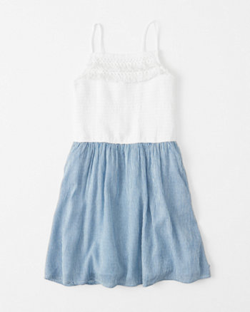 kids Fringe Skater Dress