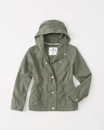 kids Military Twill Jacket