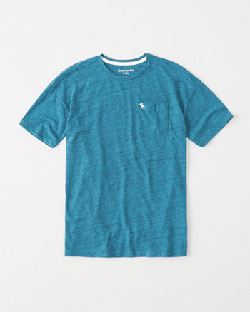 kids pocket long tee