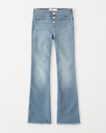 kids pull-on flare jeans