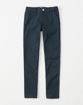 kids pull-on straight chino pants
