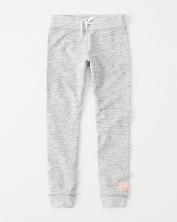 kids graphic fleece leggings