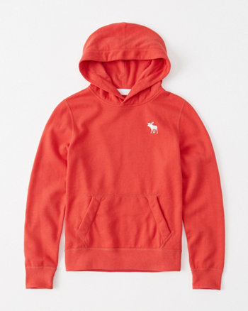 kids icon fleece hoodie