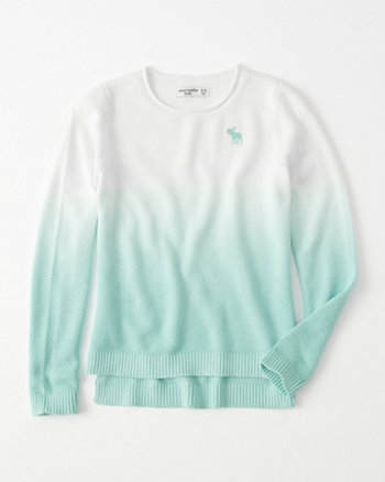 kids dip-dye icon pullover