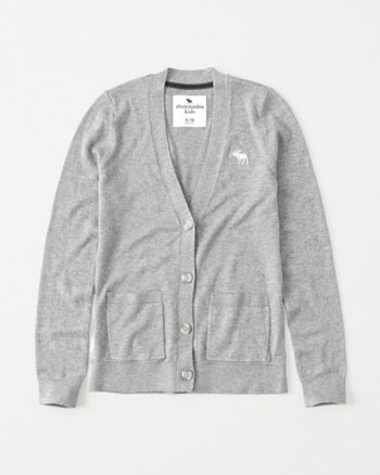 kids icon boyfriend cardigan