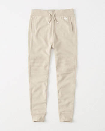 kids moto icon fleece joggers