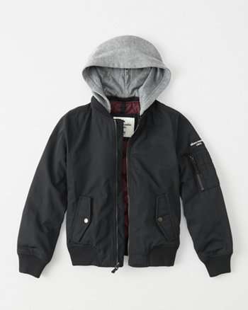 kids twofer bomber jacket