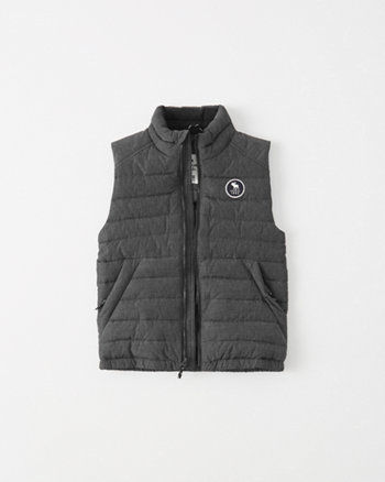 kids lightweight logo vest