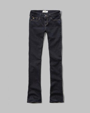 kids a&f boot jeans