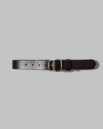 kids signature leather belt