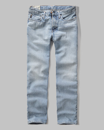 kids a&f classic straight jeans