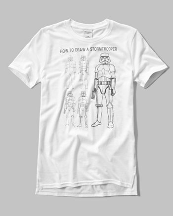 kids glow-in-the-dark vintage star wars graphic tee