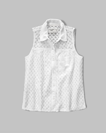 kids lace tunic shirt