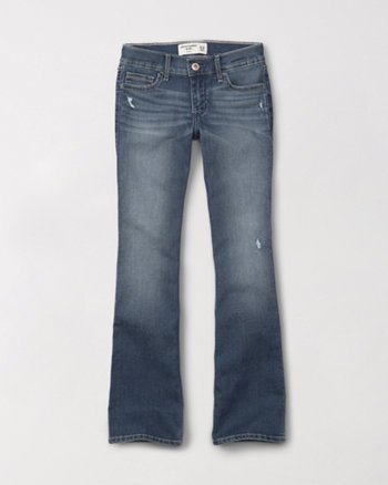 kids ripped bootcut jeans