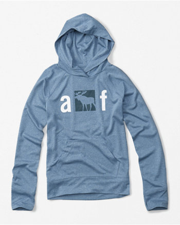 kids active hooded tee