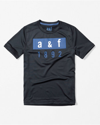 kids active logo tee