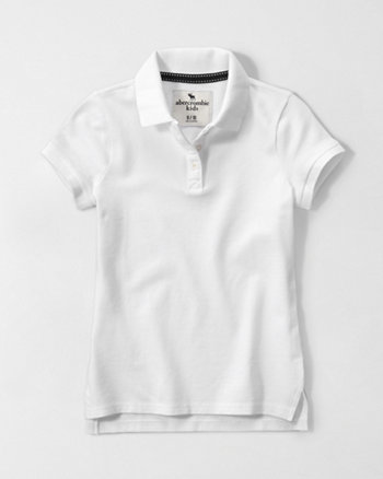 kids short-sleeve polo