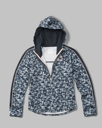 kids active zip-up hoodie